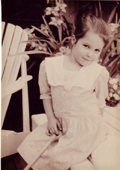 Sophia Bush childhood photo two at Pinterest.com