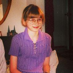 Lauren Lapkus kindertijd foto een via Pinterest.com