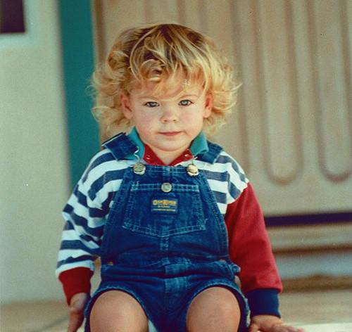 Zac Efron, foto de infância dois em Pinterest.com