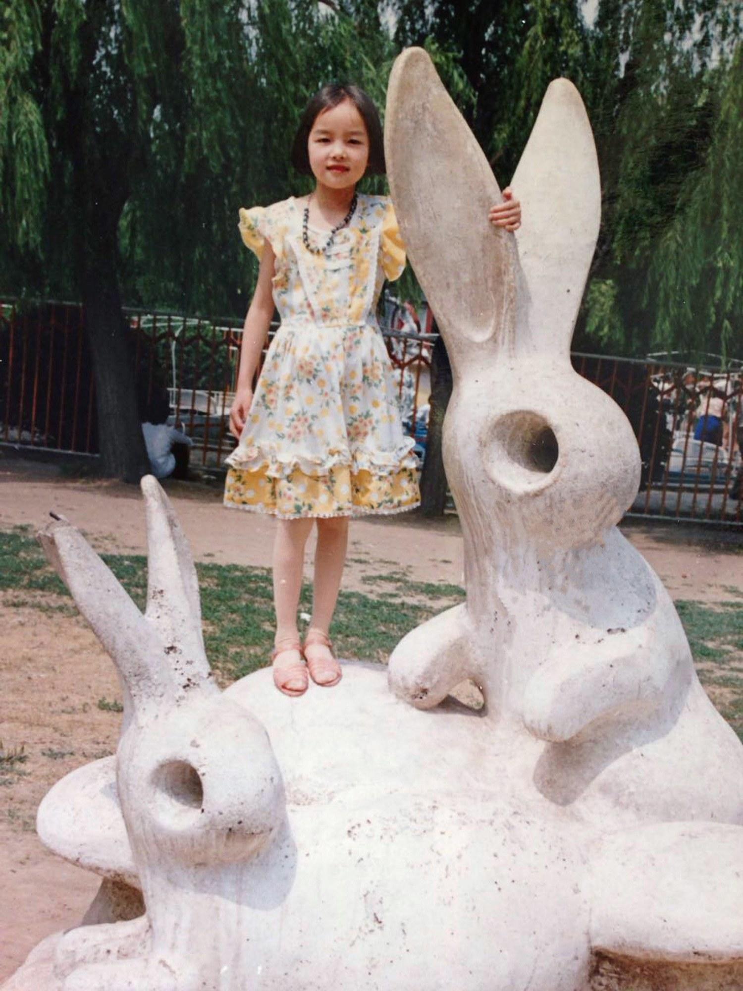 Fei Fei Sun childhood photo one at Vogue.com