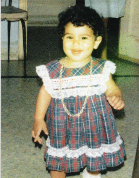 Rima Fakih childhood photo one at theislamicmonthly.com