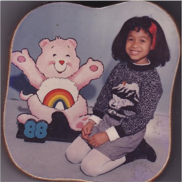 Althea Heart, foto de infância um em vh1.com