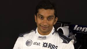 Narain Karthikeyan younger photo two at f1fanatic.co.uk