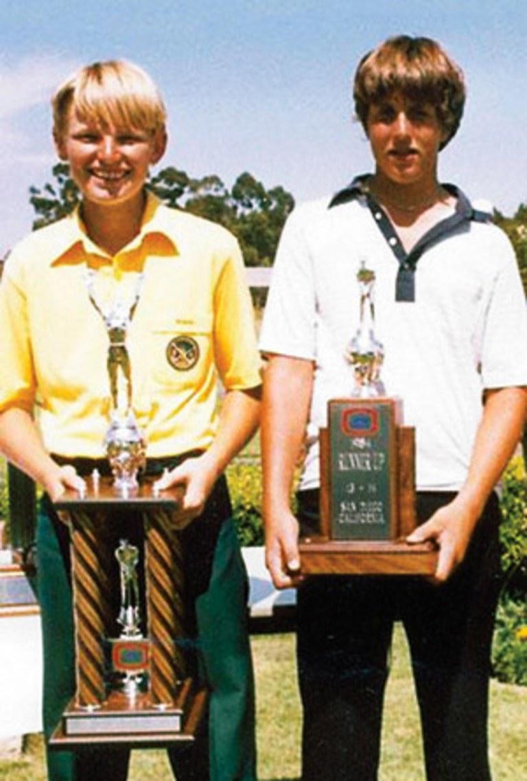 Ernie Els childhood photo one at golfdigest.com