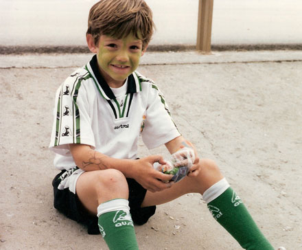 Marcos Alonso childhood photo one at Marco-alonso.com