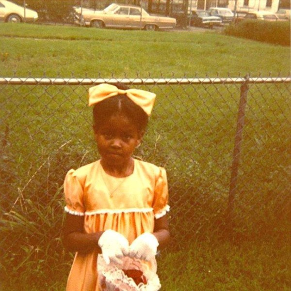 Michelle Obama childhood photo two at Pinterest.com