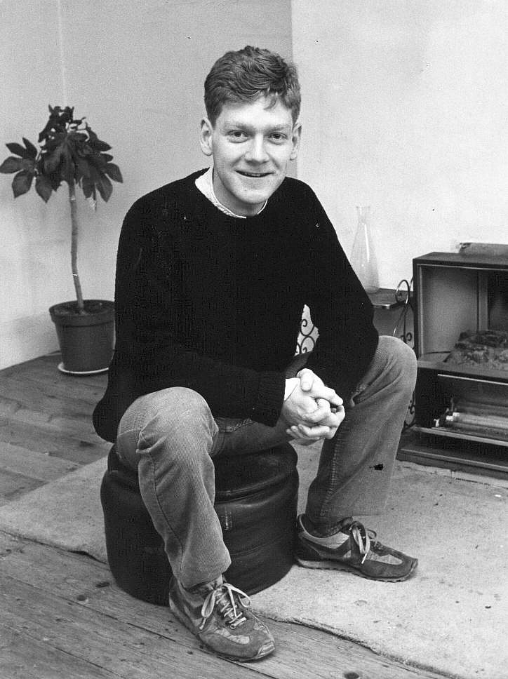 Kenneth Branagh younger photo one at Branaghcompendium.com