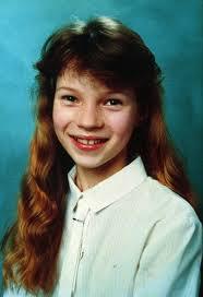 Kate Moss, foto de infância três em Buzzfeed.com