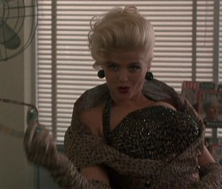 Anna Nicole Smith first movie: The Hudsucker Proxy