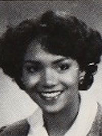 Halle Berry yearbook photo one at Classmates.com at Classmates.com