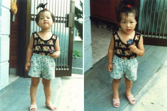 Song Joong-ki childhood photo one at Allkpop.com