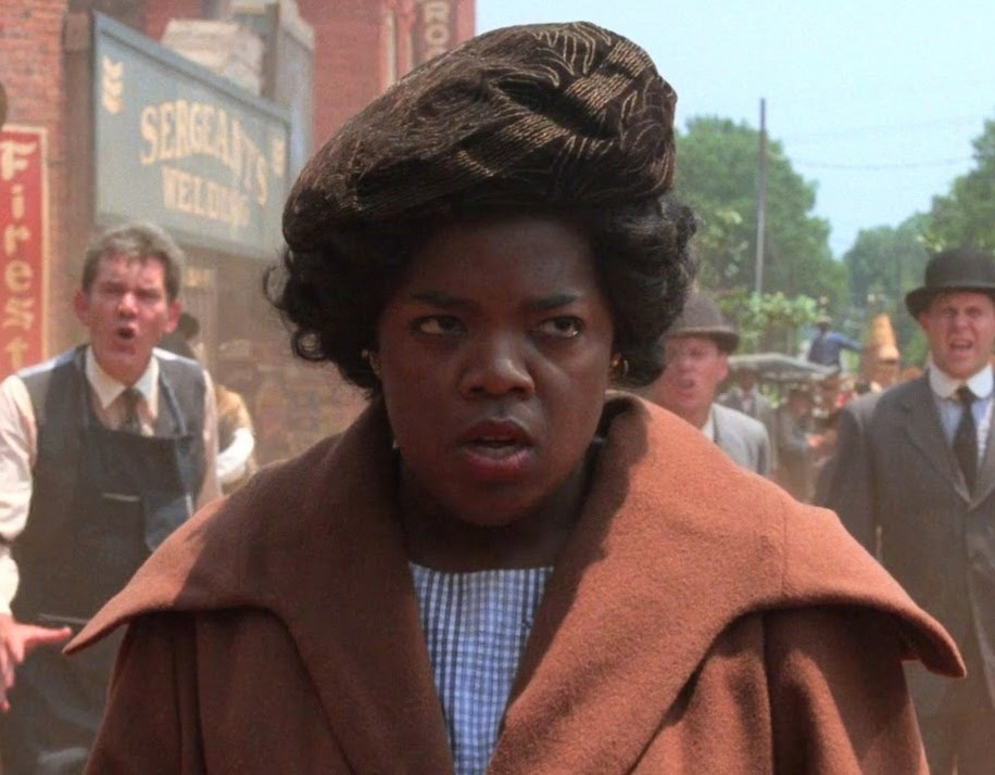 Oprah Winfrey first movie:  The Color Purple