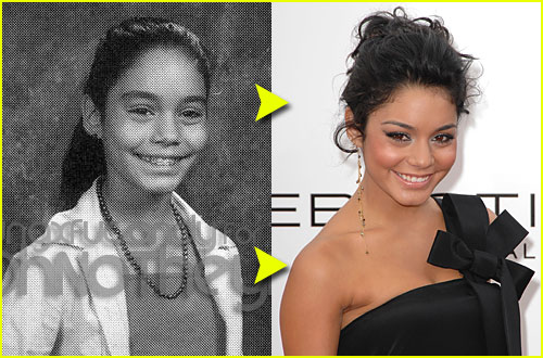 Vanessa Hudgens yearbook photo one at celebyearbookphotos.com at celebyearbookphotos.com