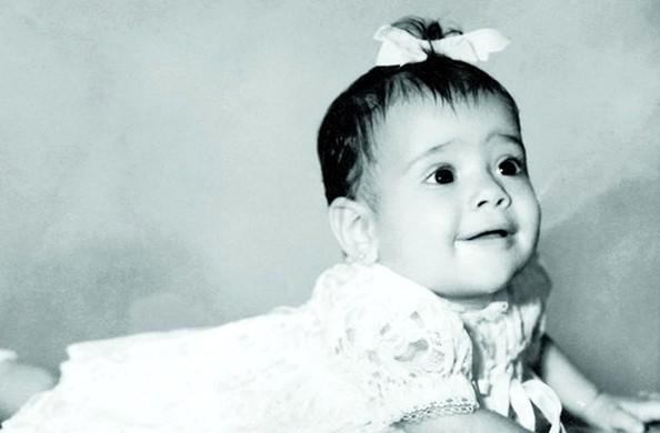 Salma Hayek childhood photo one at Zimbio.com