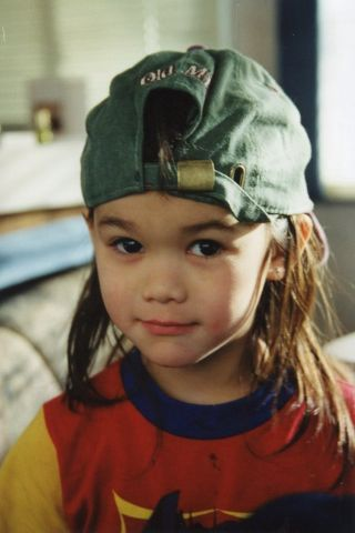 Booboo Stewart childhood photo one at Pinterest.com
