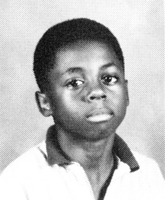 Lil Wayne childhood photo one at Pinterest.com