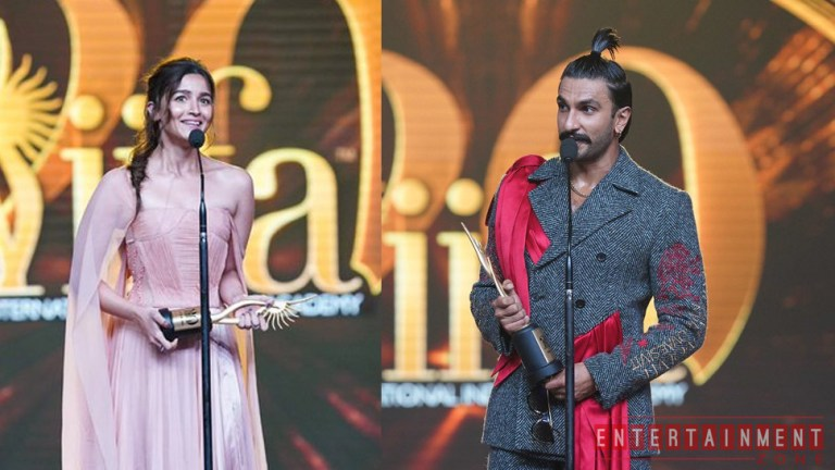 IIFA 2019 Ranveer Singh And Alia Bhatt Best Actor Awards