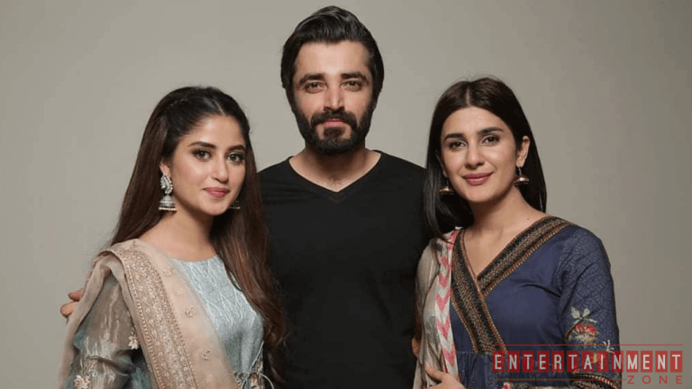 Sajal Aly And Hamza Ali Abbasi