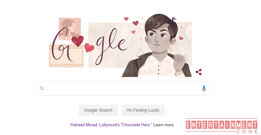 Waheed Murad honored by Google's Doodle on his birthday