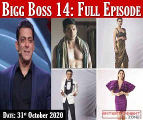 Bigg Boss Season 14 Today