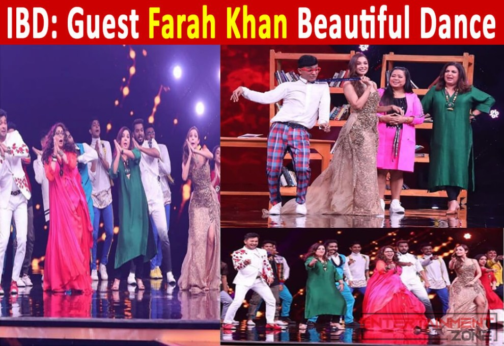 India's Best Dancer Farah Khan