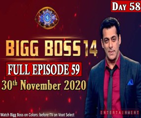 Bigg Boss 14 Watch Today