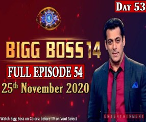 Bigg Boss 14 Watch Episode