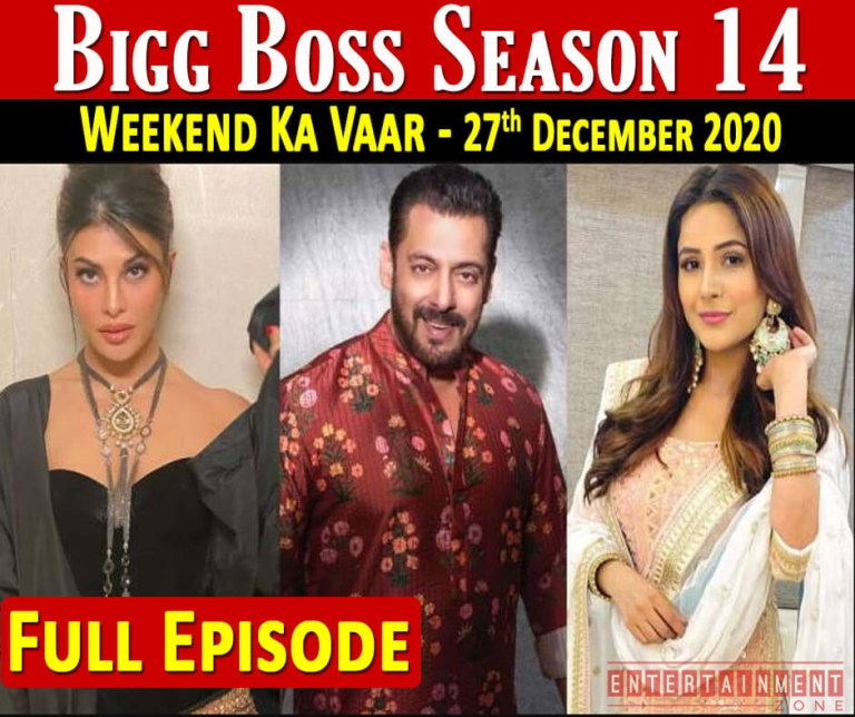 Bigg Boss 14 27th December