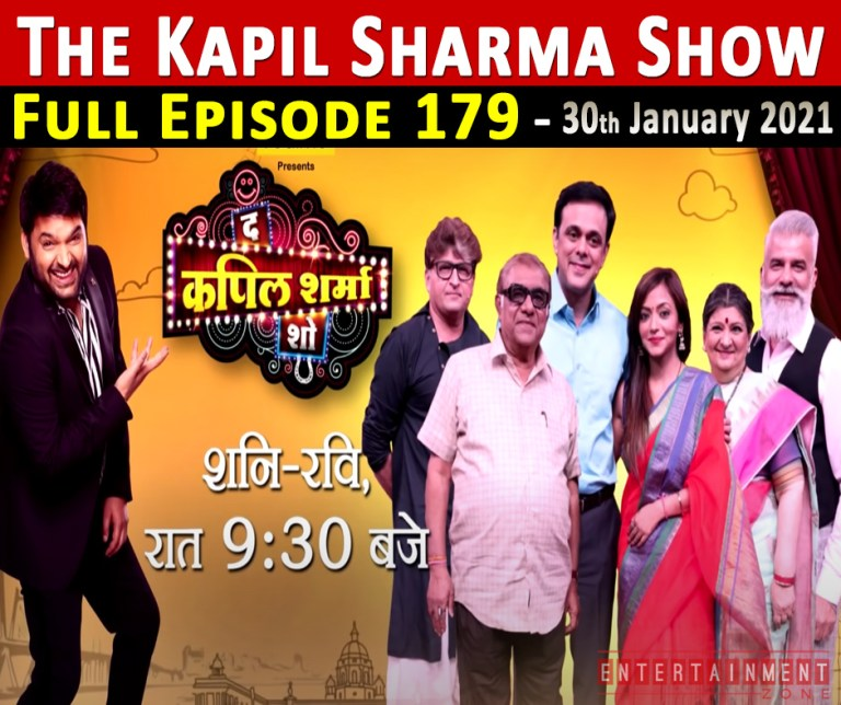 The Kapil Sharma Show Full Episode 179