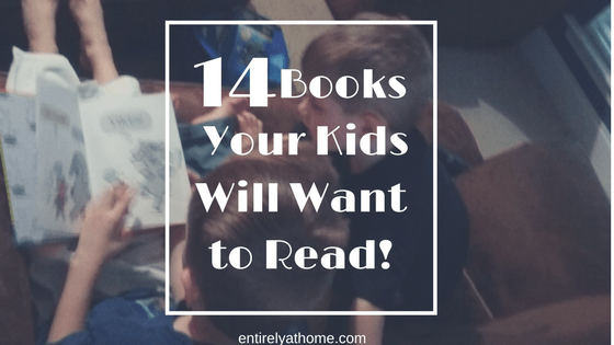 14 Books your Early Readers Will Want to Read!