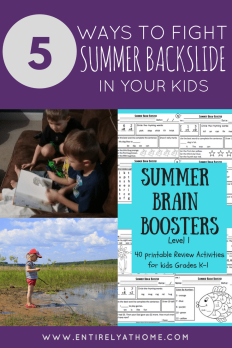 Want to keep your kids learning this summer and fight summer backslide? Click here for some great resources and ideas!