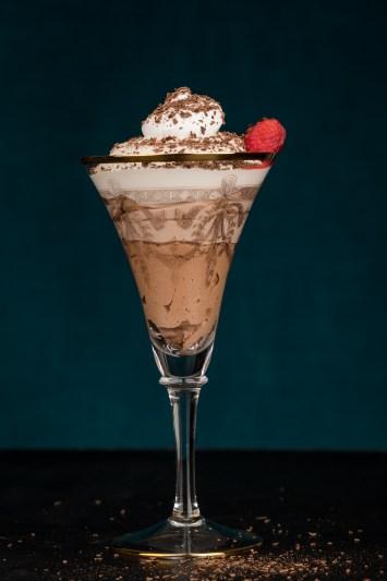 Vegansk chokladmousse