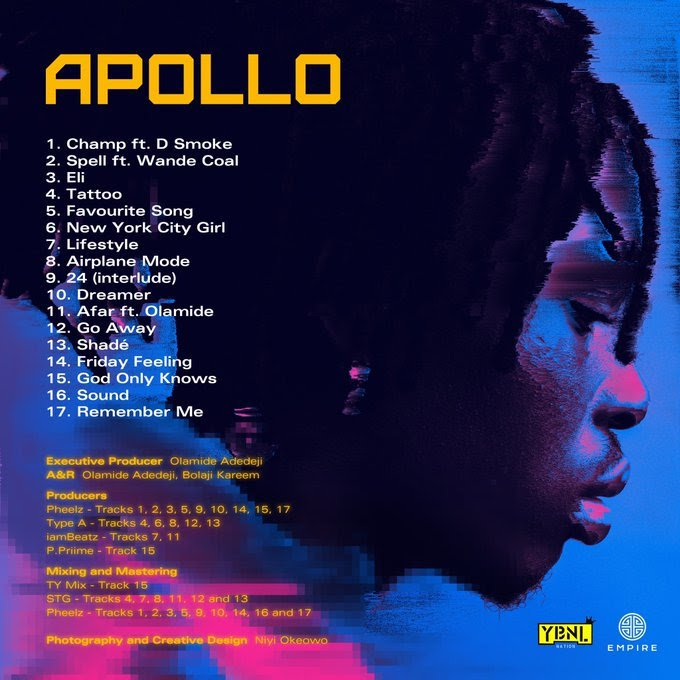 ALBUM : Fireboy Dml - Apollo