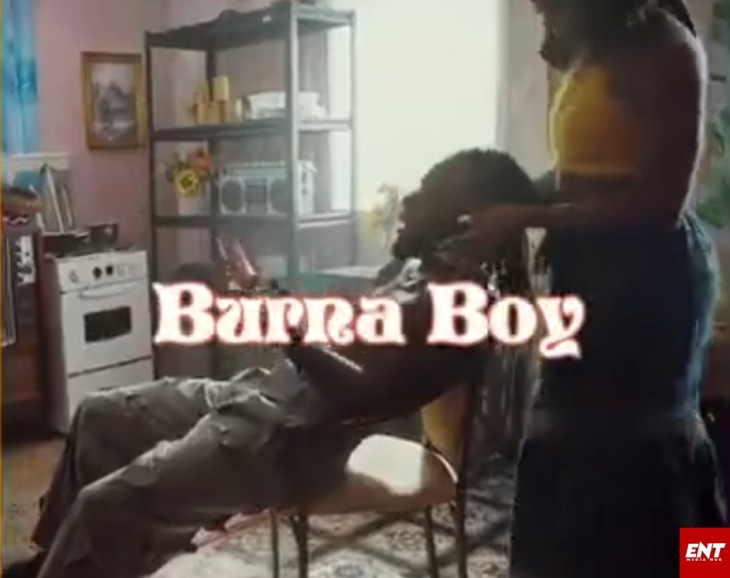 VIDEO : Burna Boy - Onyeka (Baby)