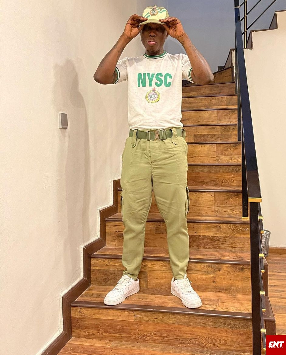 Zlatan Ibile NYSC Uniform