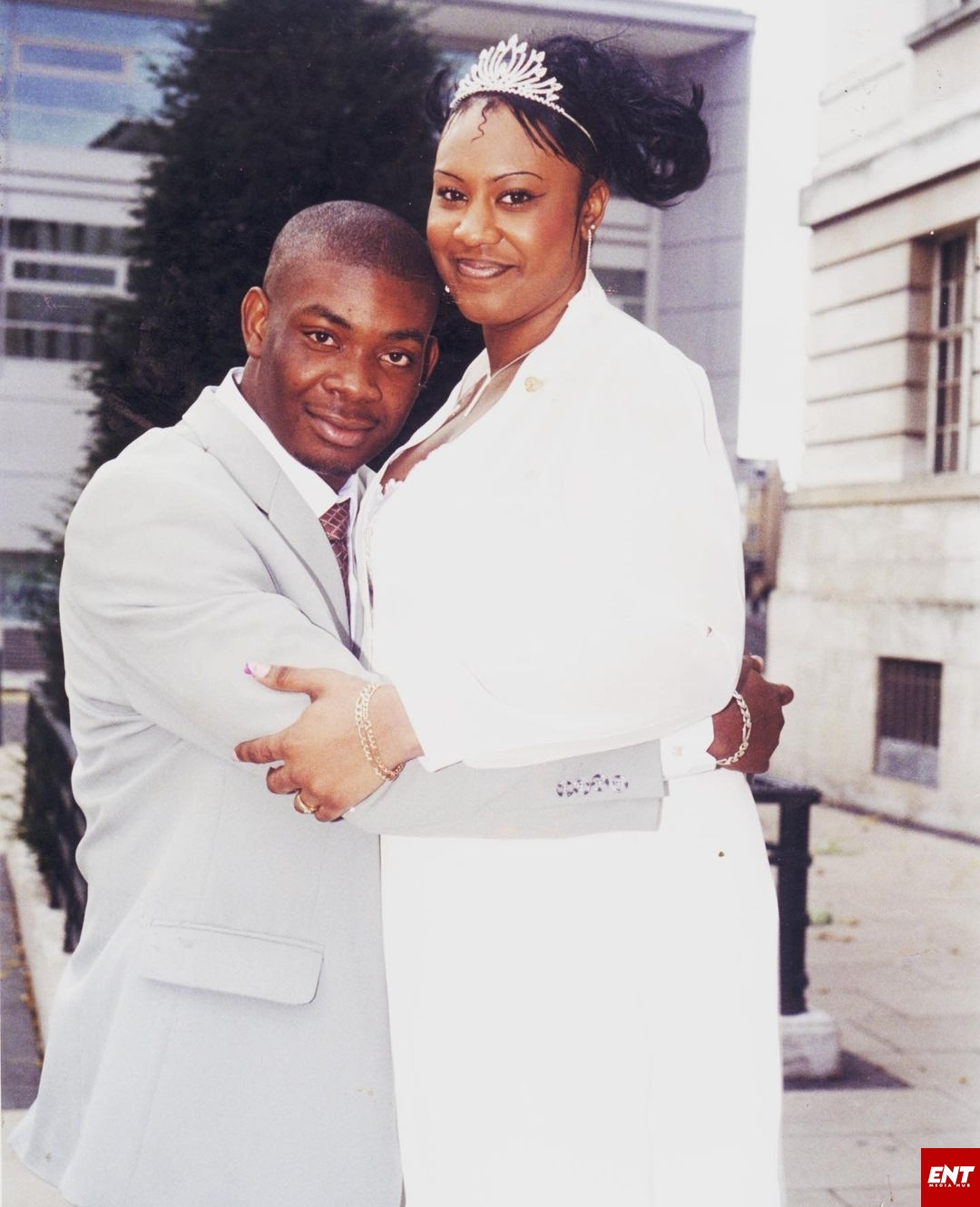 Don Jazzy and ex-wife Michelle