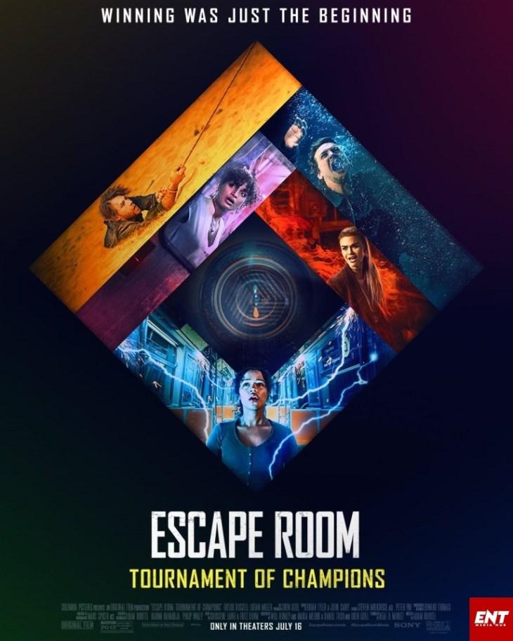MOVIE : Escape Room - Tournament of Champions (2021)