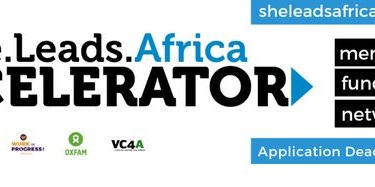 She Leads Africa (SLA) Accelerator Program 2019 for early stage Female Entrepreneurs
