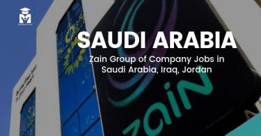 Zain Group Job Vacancies 2019