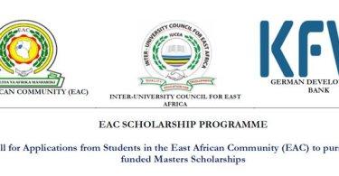 EAC Scholarship Programme 2019