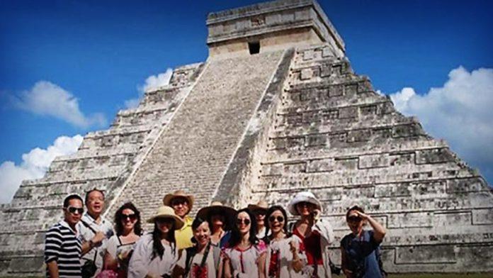 turistas asiaticos a mexico