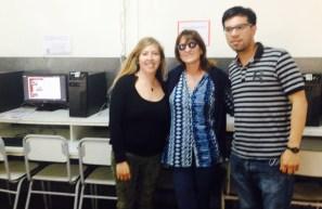 Prof. Viviana Ramirez, Lic. Cristina Rodrigues, Prof. David Otrera