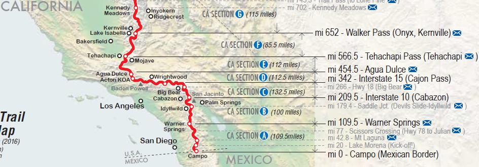 PCT 2017 Section Review SoCal The Desert PCT Hiking Blog