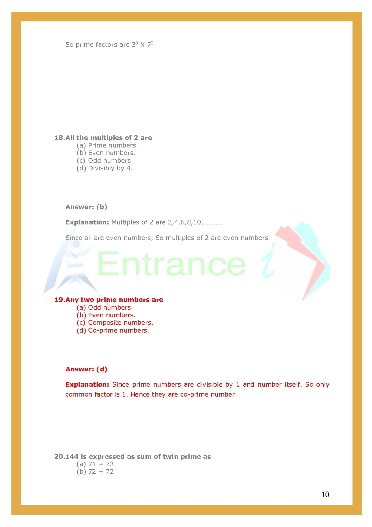 Worksheet 3 For Chapter Playing With Numbers Class 6 Maths