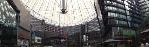 Sony Center, Potsdamer Platz, Berlin