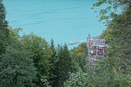 Giessbach vue d'en haut