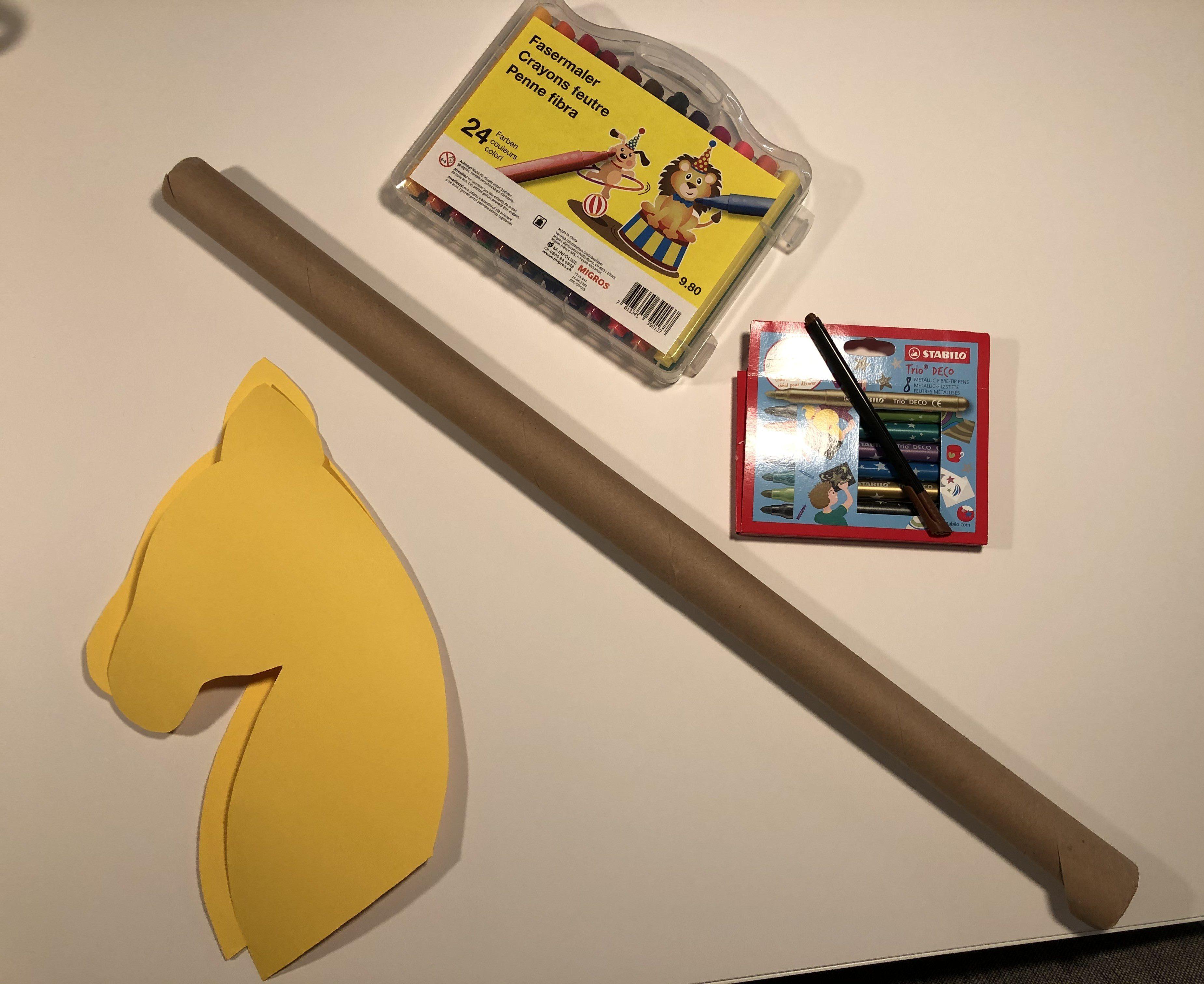 Cheval bâton à réaliser soi-même matériel