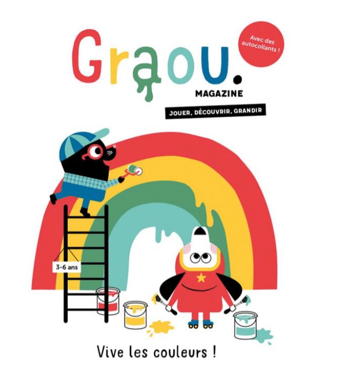Magazine Graou Cadeaux 3 ans