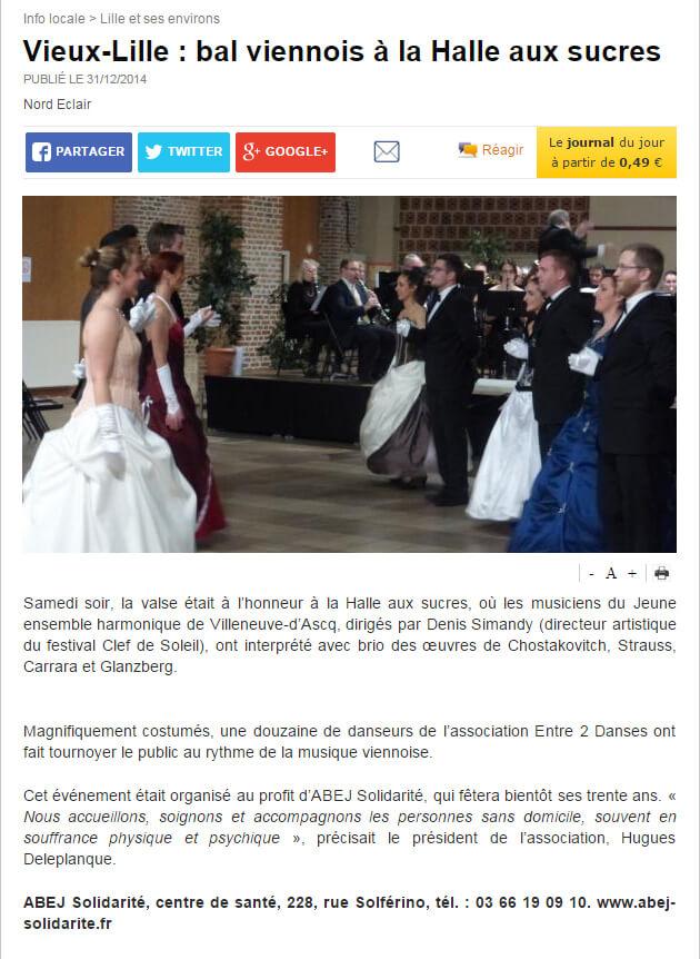 14 12 31 - Nord Eclair Concert bal viennois ABEJ