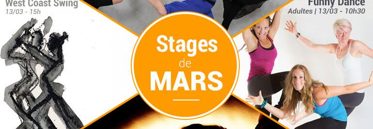 danse mars cours stages nord 2016